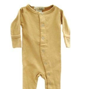 L'ovedbaby Gloved-Sleeve Overall in Caramel